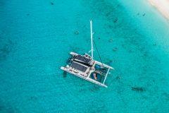 Catamaran-BlueFinn-aerial-view